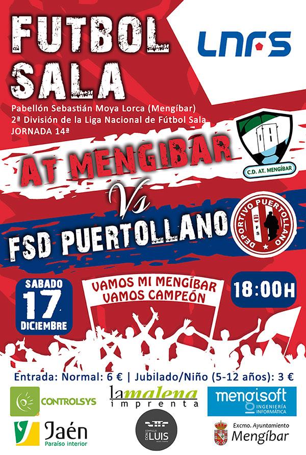Cartel Atlético Mengíbar – FSD Puertollano