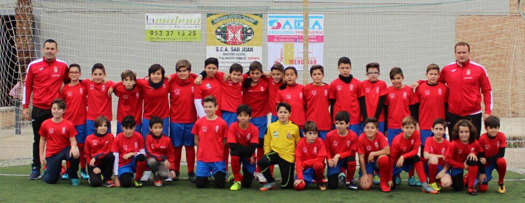 alevin futbol
