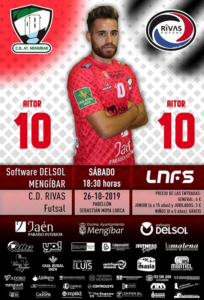 Jornada 7 | Software DELSOL Mengíbar vs Rivas Futsal
